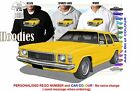 74-76 HJ HOLDEN WAGON HOODIE ILLUSTRATED CLASSIC RETRO MUSCLE SPORTS CAR