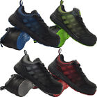 LADIES ULTRA LIGHTWEIGHT STEEL TOE CAP SAFETY TRAINERS WORK SHOES BOOTS SIZE 3-8