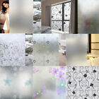Внешний вид - Waterproof Glass Frosted Bathroom window Decal Self Adhesive Film Wall Sticker L