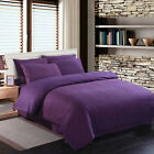 SUPERKING Poly Cotton sheet Fitted Flat Valance Base Duvet Cover & Pillow Cases