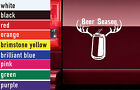 Beer Season Hunting Vinyl Sticker Decal Car-Truck Laptop-Netbook 1470