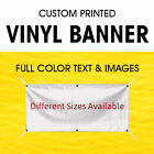 Custom Vinyl Banner True Solvent Ink Signs with free Grommets and free design