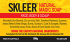 KERATOSIS PILARIS/KP REMOVAL SOAP~Natural Skin Remedy for rash on face/legs/arms