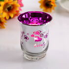 Glass Votive Tealight Candle Holder Heart Wedding Favor Lover Gift Candle Cup