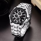 CURREN Men's Luxury Stainless Steel Quartz Analog Sports Waterproof Wrist Watch image