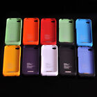 New 4 Colors Choice 1900mA External Battery Case Power Extended For iPhone 4 4S