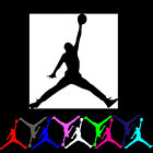 12 mini Lot Michael Jordan Air Jumpman Basketball Logo Vinyl Decal Sticker Party