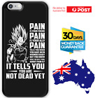 TPU Bumper Case Dragon Ball Z DBZ SSJ Super Saiyan 2 Vegeta Quotes #8