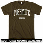Yosemite California T-shirt - Men S-4X  Gift US National Park NPS Hiking Camping