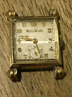 Vintage Art Deco Bulova Knickerbocker 10K Gold Filled Cal. 8AH Watch For Repair