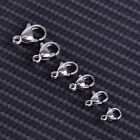 100pcs Stainless Steel Lobster Clasps Trigger Jewelry Claw Connector Hooks  DIY