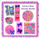 Various Bow Bowknot silicone fondant moulds - CHOOSE YOUR STYLE - cake cupcake