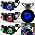 LED Demon Angel Eyes Headlight Assembly HID Projector For Yamaha YZF R1 09-2011