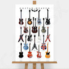 Guitar Heaven Large Canvas Print Picture Nirvana Rolling Stones AC/DC Metallica