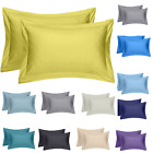 5* 400 THREAD COUNT LUXURY HOTEL QUALITY EGYPTIAN COTTON PILLOW CASE PACK OF 2