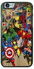 Marvel Comic Hulk Spiderman Iron man Phone Case Cover for iPhone Samsung LG Gift