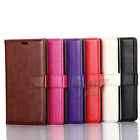 Flip Leather Card-Slot Wallet Stand Case Cover For Sony Xperia E5,F3313 F3311