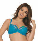 Curvy Kate CK8001 Florence Balcony / Balconette Bra in Pacific Blue