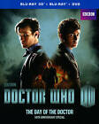 Doctor Who: The Day of the Doctor (Blu-ray/DVD, 2013, 2-Disc Set, 3D/2D)
