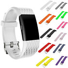 New Fitbit Charge 2 Sport Silicone Band Strap For Replacement Wrist Watch bands