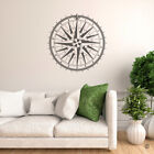 360 Compass Rose Vinyl Wall or Ceiling Decal - fits interior room + more K670