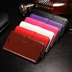 Flip Leather Wallet Case Cover for LG X Power, F750K K220