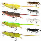 Savage Gear 3D Rad Rat Lures - Pike Bass Zander Musky Catfish Fishing Tackle