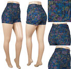 stretch armstrong toy for sale - NWT HIGHWAIST JUNIOR STRETCH DENIM FLOWER PRINT SHORTS DISCOUNT SALE #JR-34940