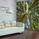 North American Forest Tr 3D Blockout Photo Printing Curtains Draps Fabric Window