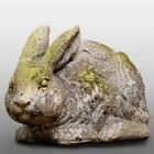 Set 2 Handcrafted Countryside Rabbit Durable Fiber Stone ...