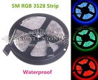5m/pcs flexible patch 3528 LED RGB lamp with IP65 LED waterproof 300 60leds/M