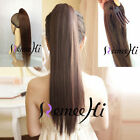 Small Fresh Fashion Girl*Alligator claw clip ponytail*100% human hair extensions