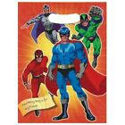 Boys Superhero Themed Heroes Loot Bags, Birthday Party Bags, Boys Gift Bags