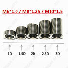 20/50/100pcs M6 M8 M10 Stainless Steel Helicoil Thread Repair Insert Coil A2/70