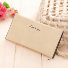 Fashion Lady Women Leather Clutch Wallet Long Card Holder Case Purse Handbag HF