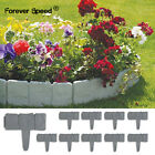 Garden Lawn Edging Cobbled Stone Effect Plastic Plastic Plant Border 2.5m-20m
