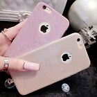 Luxury Bling Glitter Back Soft Phone Case Cover For Apple iPhone 5/6//6s/7 Plus