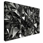 Abstract Futuristic  Shapes Canvas Art High Quality Great Value