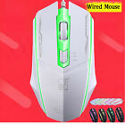 1200 DPI 4 Button LED Optical USB Wired Gaming Mouse Mice For Pro Gamer PC US