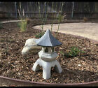Outdoor Garden Statue Yard Sculpture Pagoda Lantern Patio Decor Porch Lawn Art