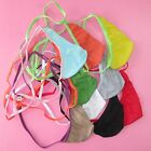 N3022A Mens Teardrop String Thong Pouch colors Fine Cotton Jersey