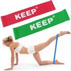 Keep Resistance Bands Latex Exercise Loop Workout Stretch Yoga Fitness Train