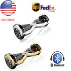 USA Stock Chrome 8 inch Bluetooth Smart  Self Electric Balancing Scooter UL2272