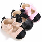Infant Toddler Baby Girl Soft Sole Crib Shoes Prewalker Sneaker Newborn