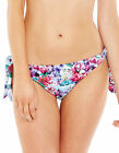 Marie Meili Womens Hyacinth Tie Side Brief