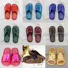New Traditional Chinese Style Brocade Women's/ Men Open Toe Shoes Slippers Gift