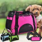 Nylon  Mesh Pet Carrier Soft Sided Cat Dog Comfort Travel Tote Bag Travel