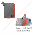 BUBM Travel Digital Storage Bag USB Charger Case Data Cable Organizer For Ipad