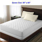 Mattress Pads Feather Beds - Bed Top Dust Mite Allergy Relief Waterproof Quilted Mattress Cover Pad Protector