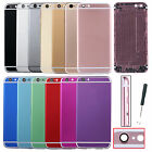 """Multicolor Metal Housing Back Battery Door Cover For Iphone 6s 4.7"""" Repair parts"""